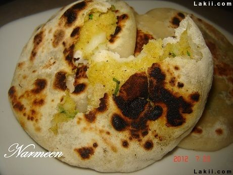 وصفة متميزة البراتا الهندي يستحق التجربة Indian Food Recipes Food Breakfast
