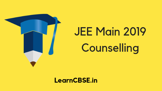 Jee Main Counselling 2019 Started By Josaa With Images Class 12 Result