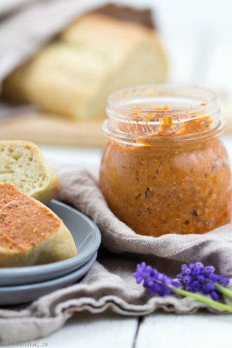 Vegetarischer Aufstrich aus Tomate und Feta | leckereien ...