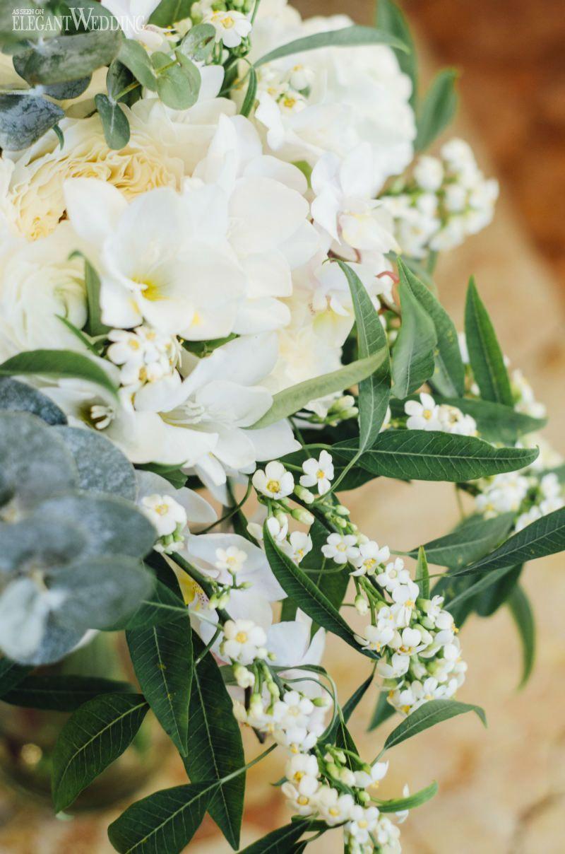 White Wedding Flowers Rustic Italian Wedding Theme Www