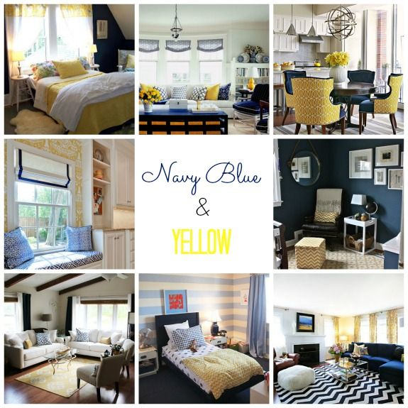 Real Inspired Decorating With Navy Blue