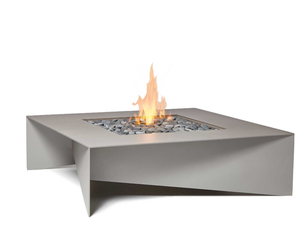 Modern Fire Table - Fold Outdoor Fire Pit | Cheminée ...