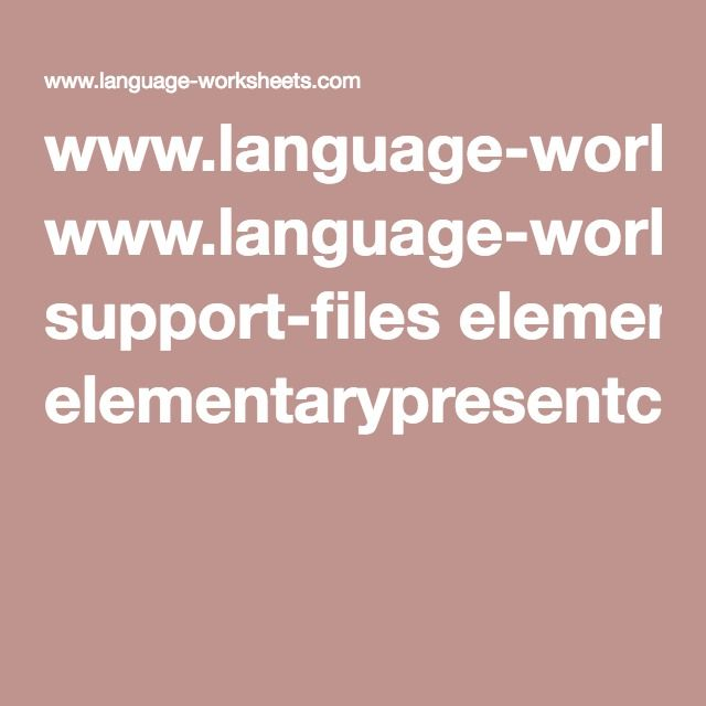 www.language-worksheets.com support-files ...