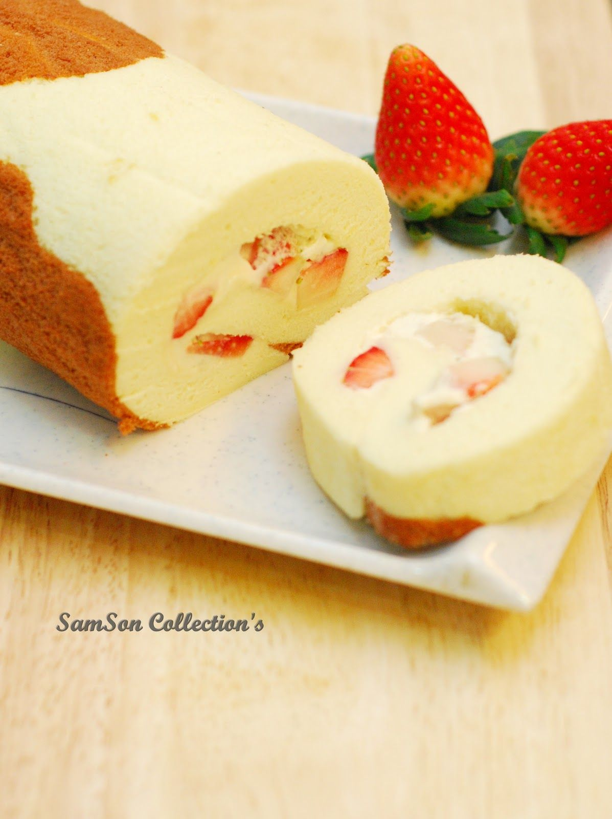 Samson Collection S Cute Japanese Roll Cake