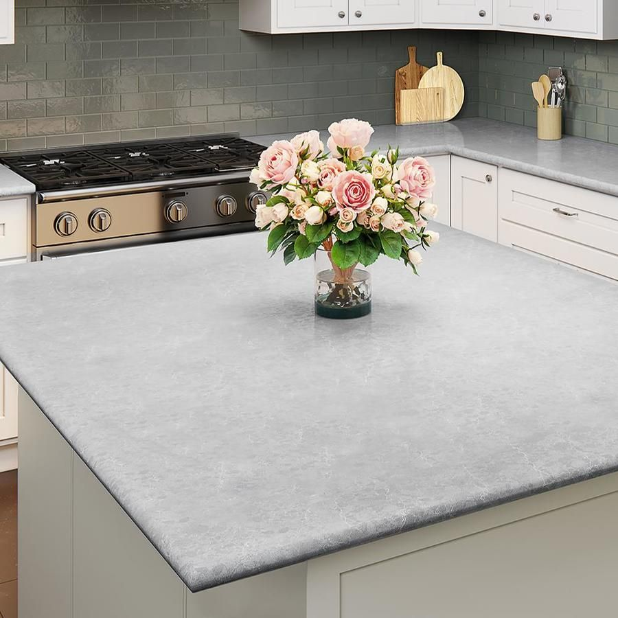 Allen Roth Brilliance Quartz Kitchen Countertop Sample At Lowes