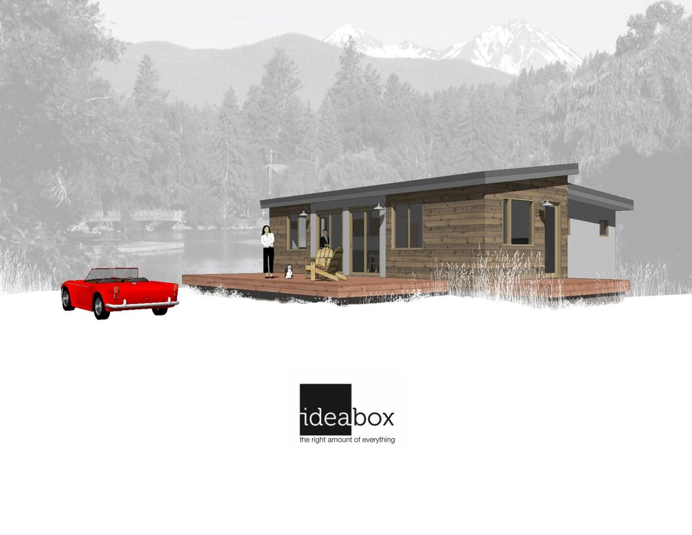 Idea Box (Oregon modular home builder): Sage model. $155,000 ... Idea Box Homes Plans on box car homes, box furniture, architecture house plans, box blueprints, box building, box art, box gifts, eco-friendly house plans, modern cube house plans, saltbox style house plans, box architecture, box house, boxcar house plans, box diy, box construction, shipping container building plans, box painting, cape cod house plans, american kestrel bird house plans, american goldfinch bird house plans,