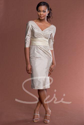 Jones Taffeta Dress