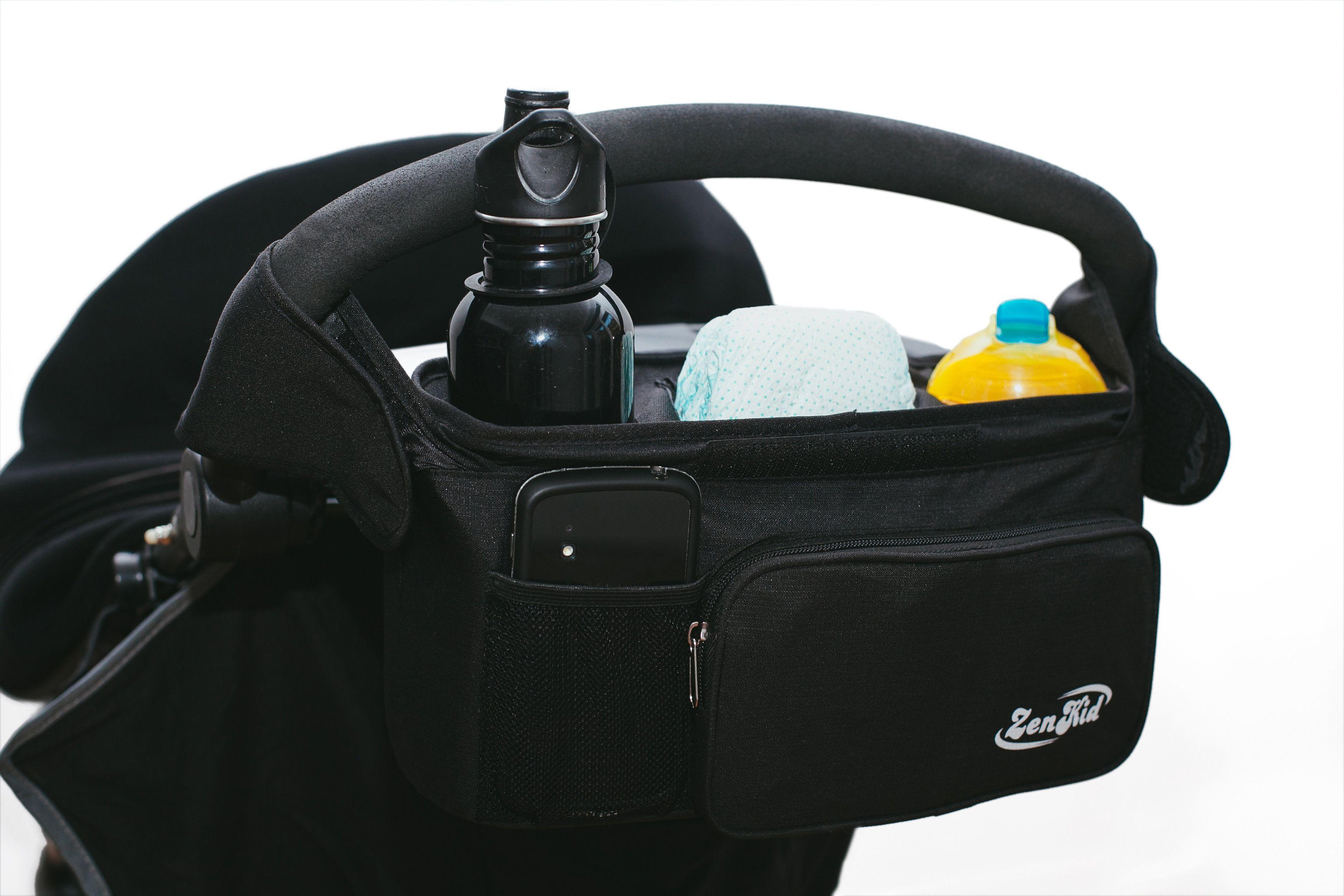 ZenKid Premium Baby Stroller Organizer Review + Giveaway