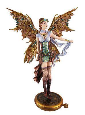 Standing-Steampunk-Fairy-Statue-Steam-Punk