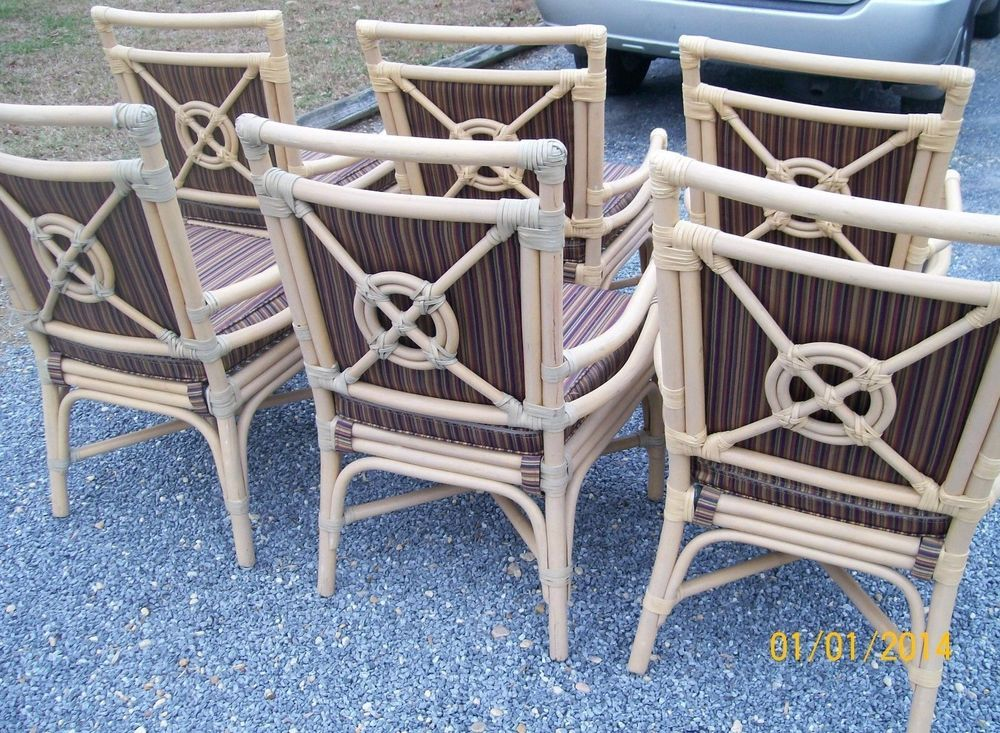 What do you think of these for me? VINTAGE MCQUIRE RATTAN