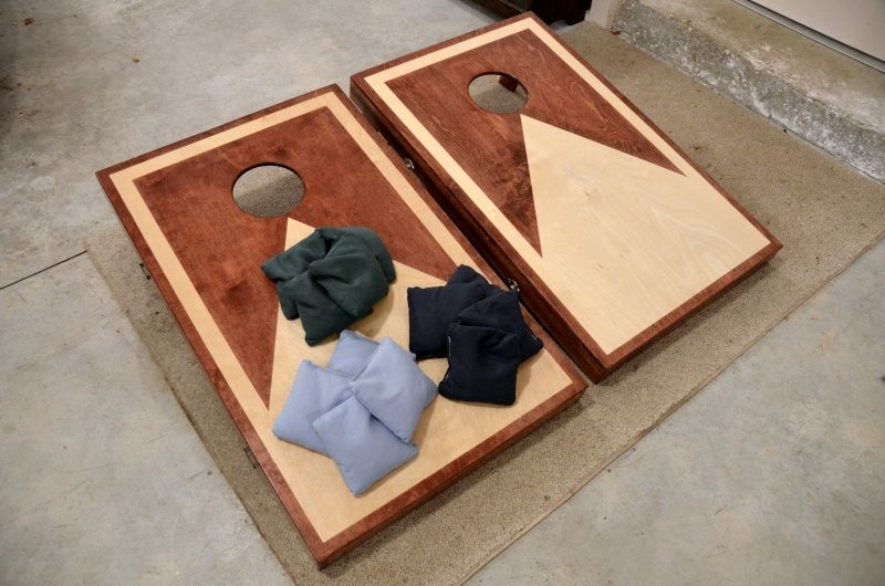 Charming Hinged Cornhole Boards With Latches | Cornhole | Pinterest | Cornhole, Board  And Gaming