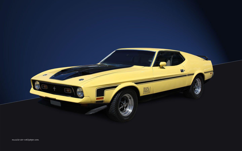 1971 Ford Mustang Mach 1 1440x900 Wallpaper 1971 Ford Mustang Mustang Mustang Mach 1