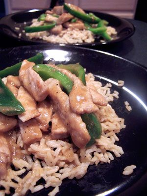 Peppered Pork with Peppers