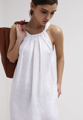 the latest bd965 bfe75 120% Lino Vestito estivo - weiss - Zalando.it | Women's ...