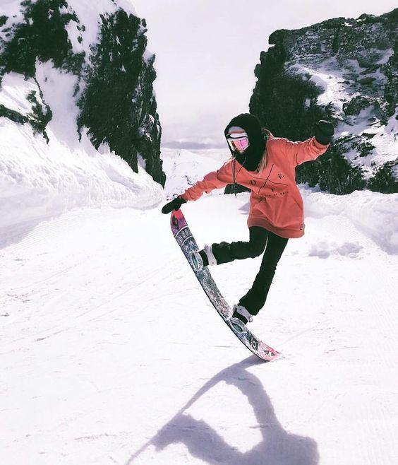 Ski, snowboard, snowboarders, girl, instagram picture idea