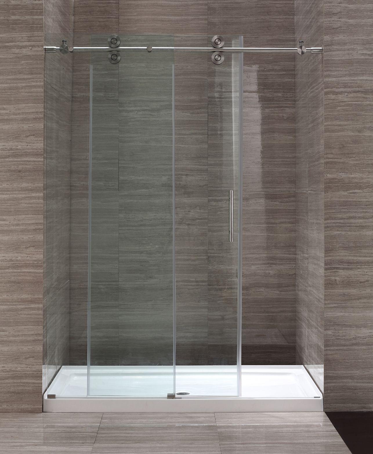Ove Decors 60 Glass Sliding Door Shower Enclosure OWS 107 GP