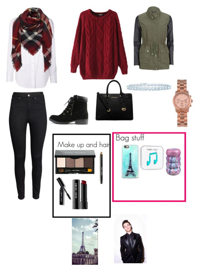 """""""In Paris with Cameron Dallas"""" by leila-hussain ❤ liked on Polyvore featuring Closed, Chicnova Fashion, H&M, AX Paris, Michael Kors, Bobbi Brown Cosmetics, Cotton Candy, Tiffany & Co. and MICHAEL Michael Kors"""