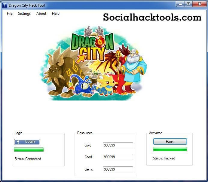 dragon city hack tool free download 2017