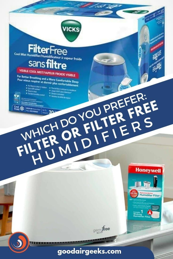 Which Do You Prefer Filter Or Filter Free Humidifiers