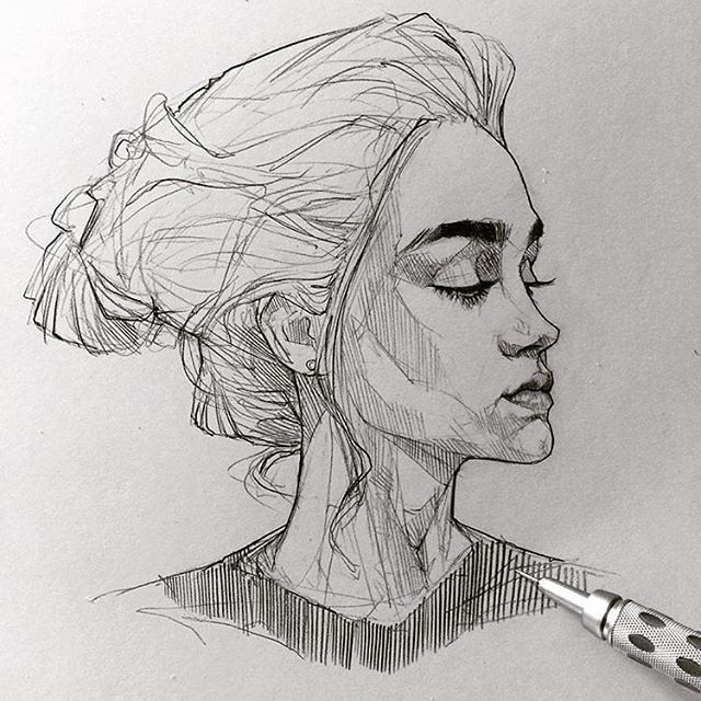 Expressive pencil sketch do you like this drawing • by artist maloart • do you want to be featured use hypnotizing arts and tag me