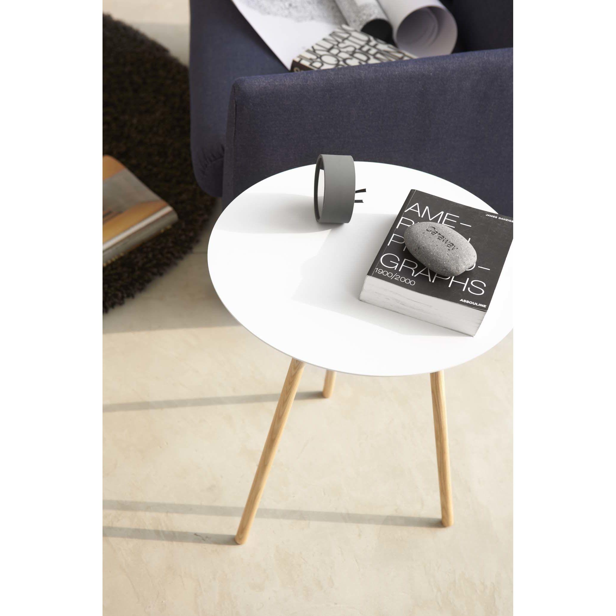 Yamazaki Usa Inc Plain End Table White Side Tables Side Table Table [ 2067 x 2067 Pixel ]