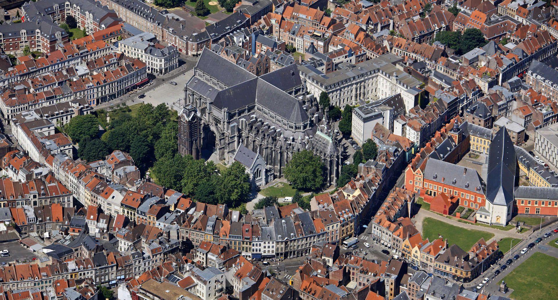 Carte De La Ville De St Omer