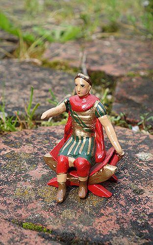 soldats de plomb et figurines de collection - au plat d'étain à Paris - jules césar