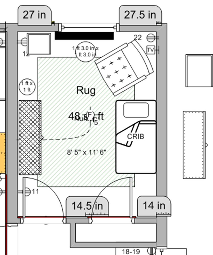 Nursery Room Layout Raumaufteilung Babyzimmer Farben Und