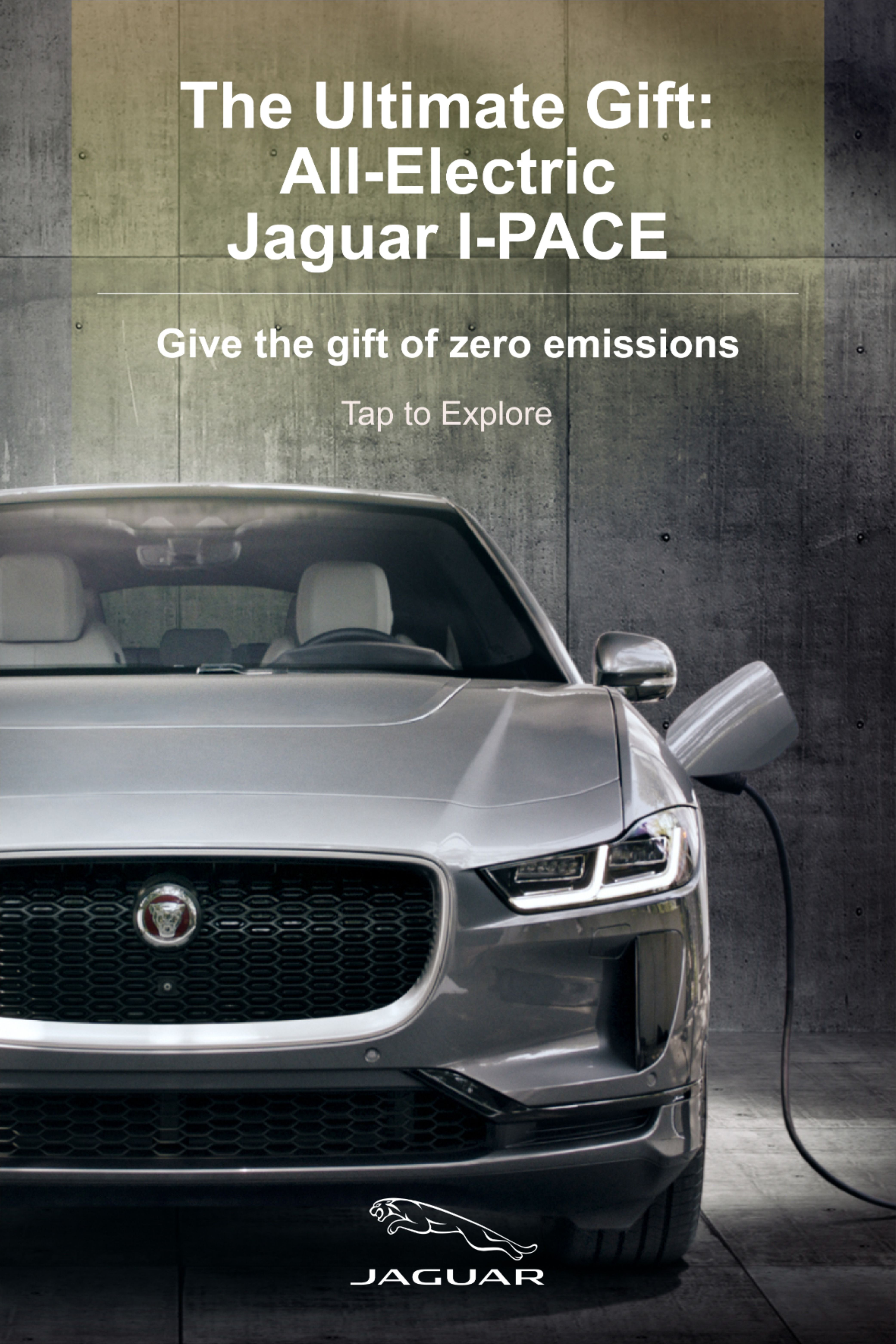 Give The Gift Of Electric Performance The All Electric Jaguar I Pace Bmw Electric Car Jaguar Usa Jaguar