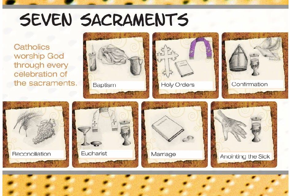 The Role of the Church in Medieval Europe by Rachel W on Prezi – Seven Sacraments Worksheet