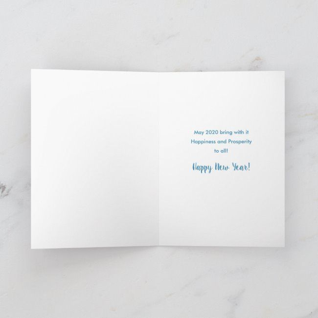 HAPPY NEW YEAR - 2020 with reflection of 2019 Holiday Card #affiliate , #AFFILIATE, #reflection#Holiday#Shop#HAPPY