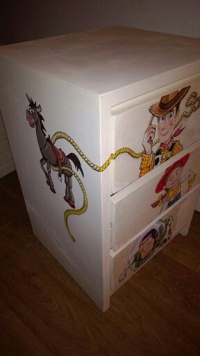 Toy Story Painted Furniture Toys Toy Chest