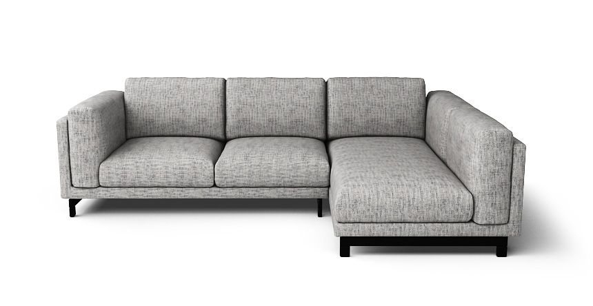 Nockeby 2 Seater And Chaise Right Sofa Cover In 2019