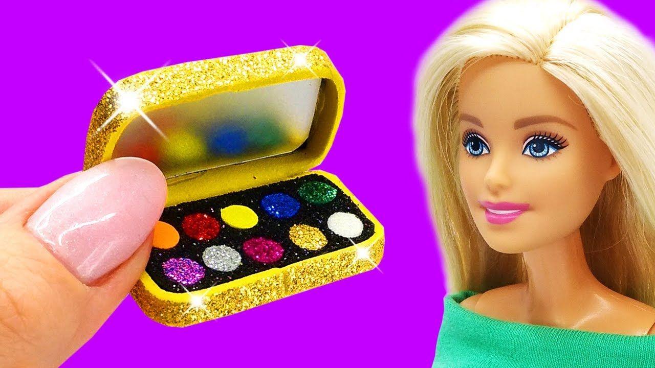 Barbie Doll Makeup Set . DIY for Kids. How to Make