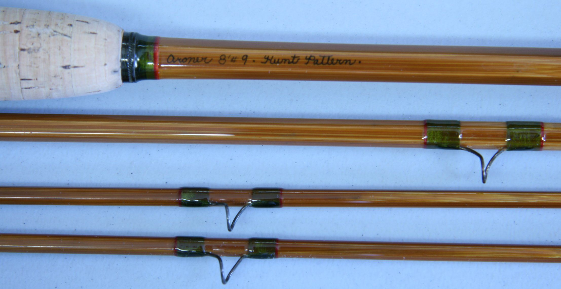 Marc Aroner 8 3 2 Hunt Pattern Line Weight 9 Weighing 6 2 Oz Bamboo Fly Rod Fly Fishing Rods Bamboo Rods