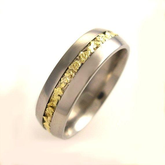 52 Stylish Unique Mens Wedding Bands For 2020 Gold Diamond
