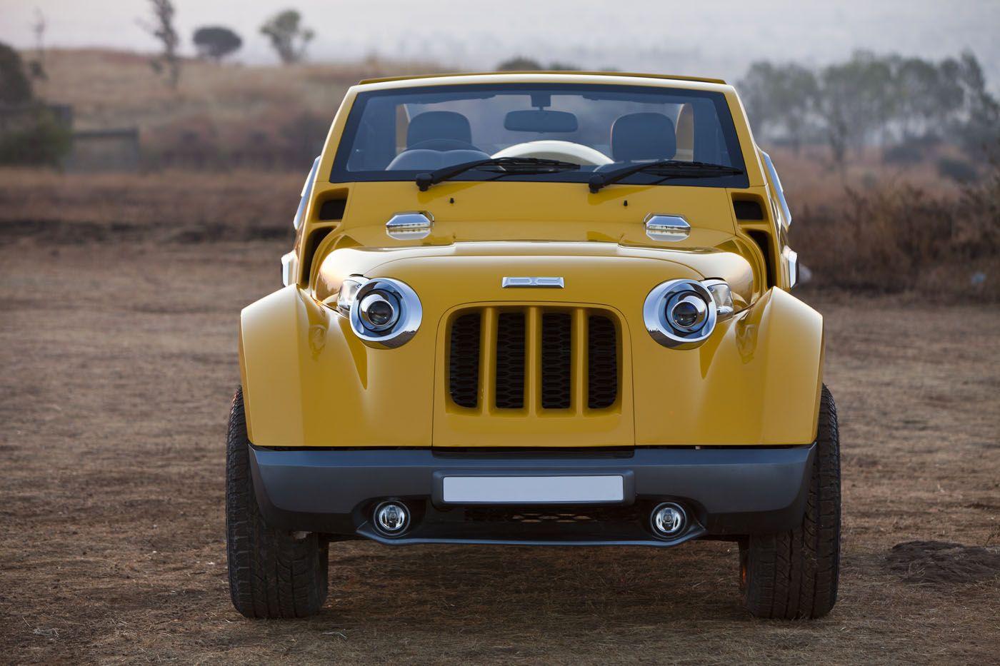 Dc Design Modifies Mahindra Thar Mahindra Thar Modified Cars Design