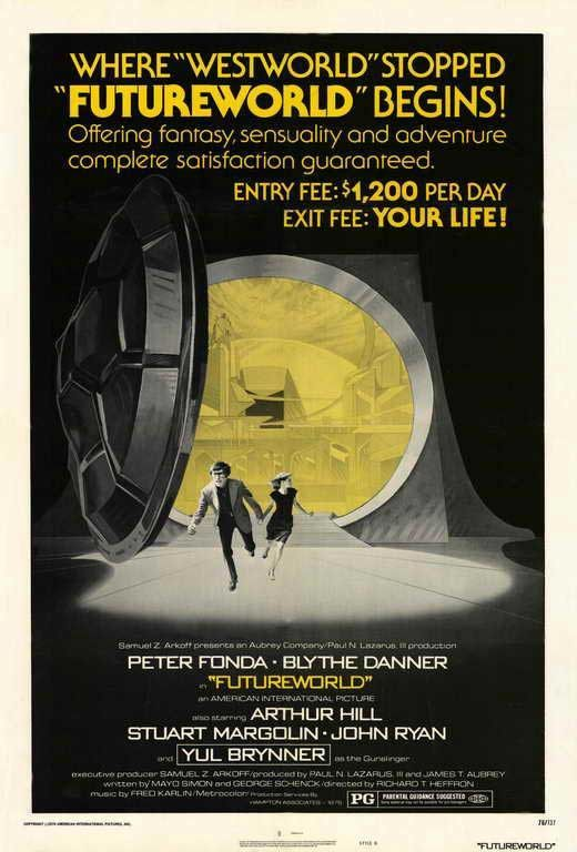 Futureworld (1976) - Yul Brynner DVD
