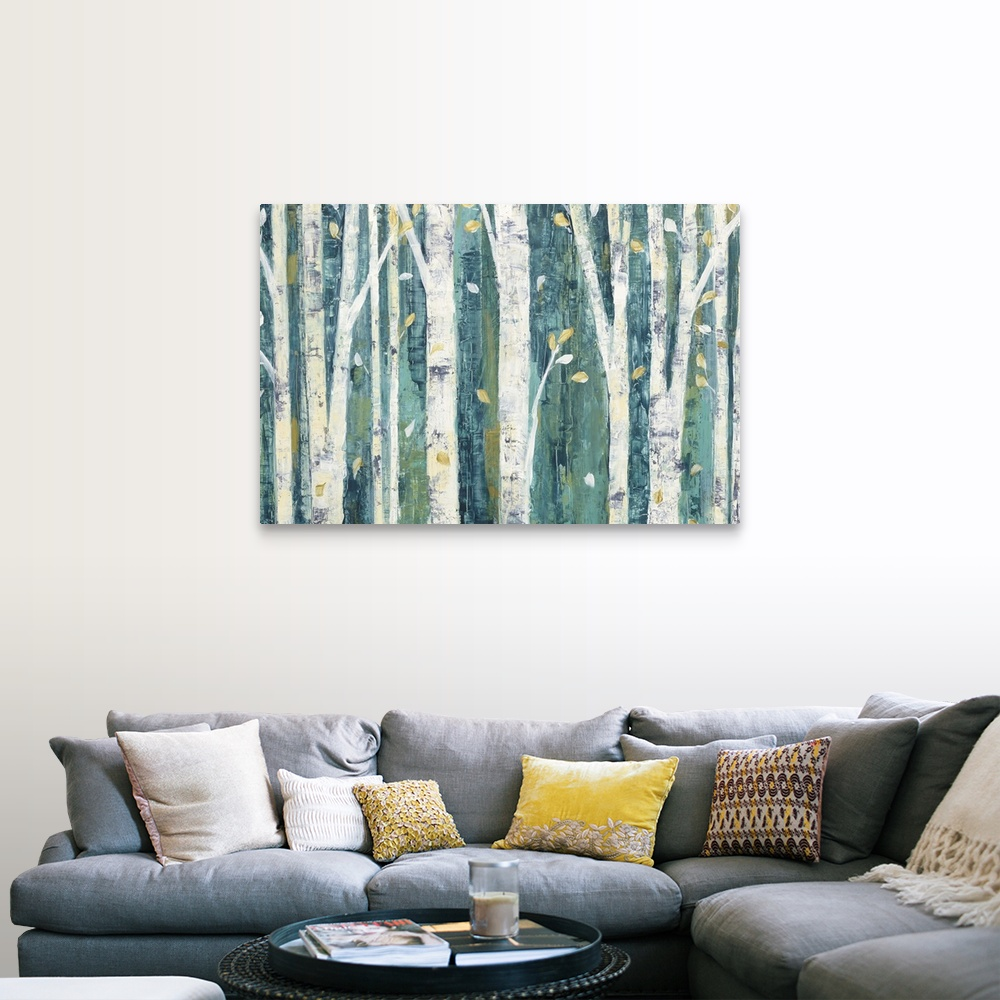 Birches In Spring Spring Wall Art White Birch Trees Large Wall Art