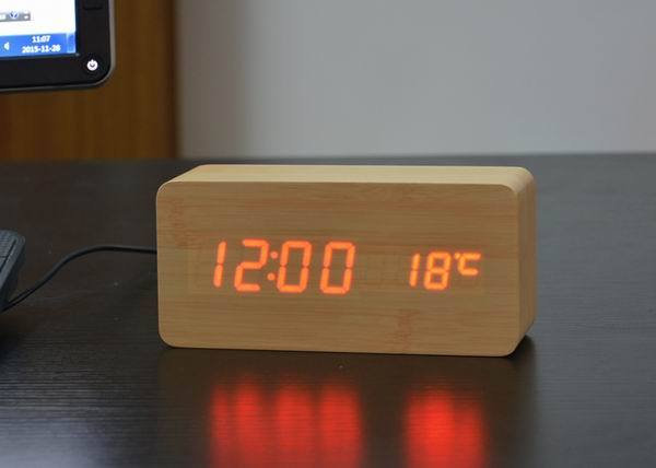Modern Alarm Clock Digital Table Clock Led Alarm Clock Alarm Clock
