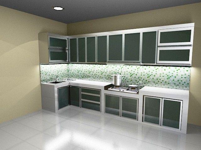 8 Ide Kitchen Set Aluminium Dapur Lemari Dapur Rumah