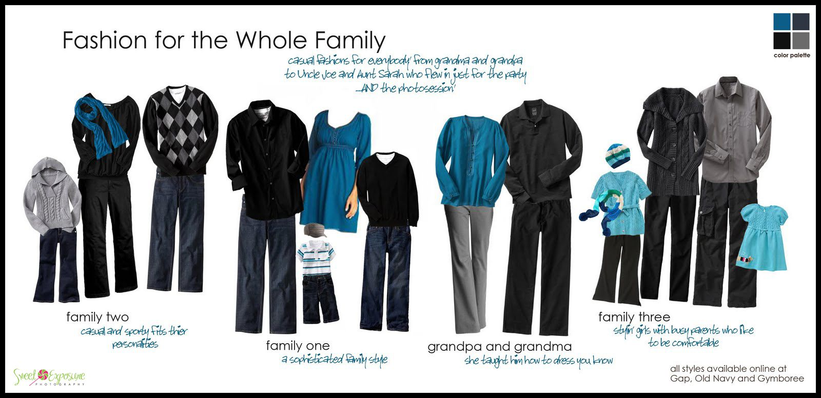 What to wear for an extended family fall photo shoot for Fall family picture ideas outside