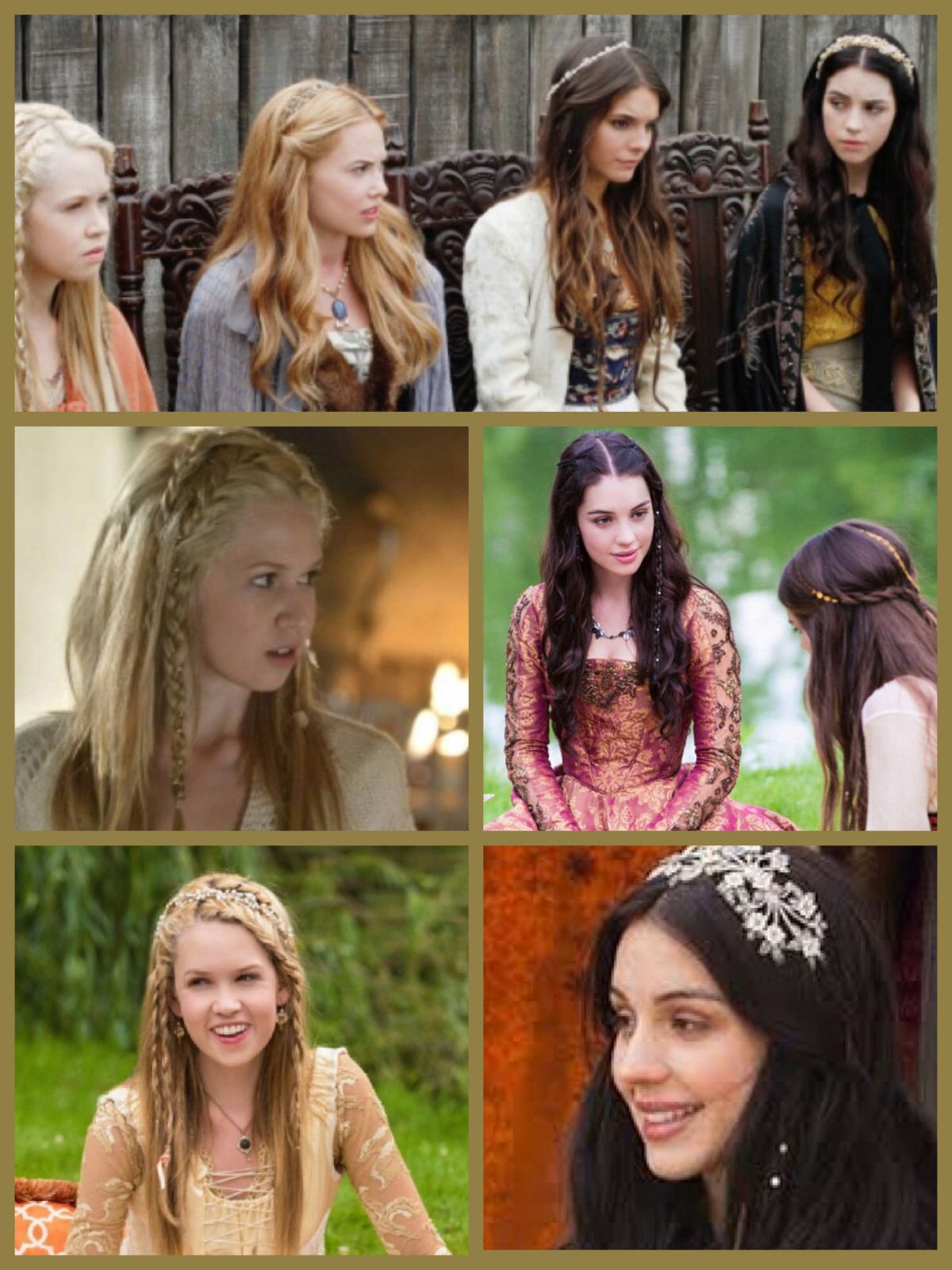 I M Obsessed With The Hair From Reign Reign Hairstyles Hair Styles Really Long Hair