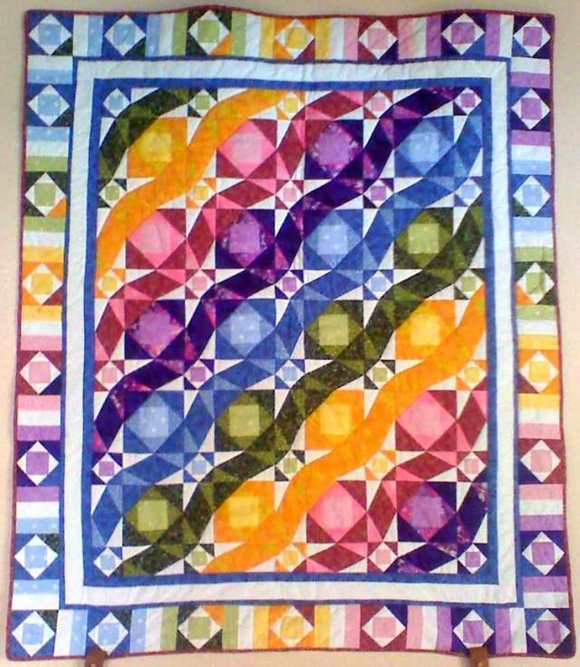 Pictures Of Quilts With A Circular Theme: Smooth Sailing