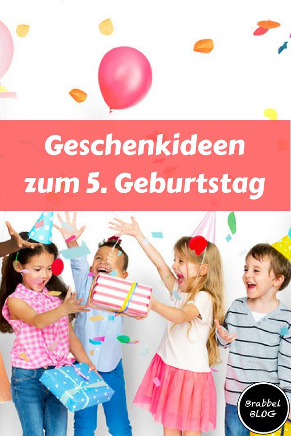 Beliebte und sinnvolle Geschenkideen zum 5. Geburtstag | Brabbelblog ...