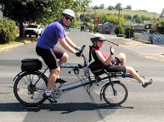 You Know Back When I Was Your Age Tandem Bicycle Tandem