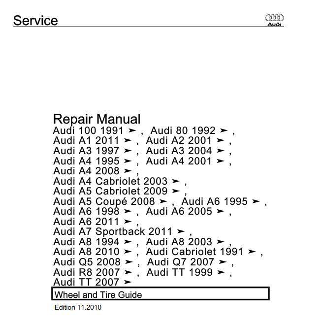 audi a1 manual pdf