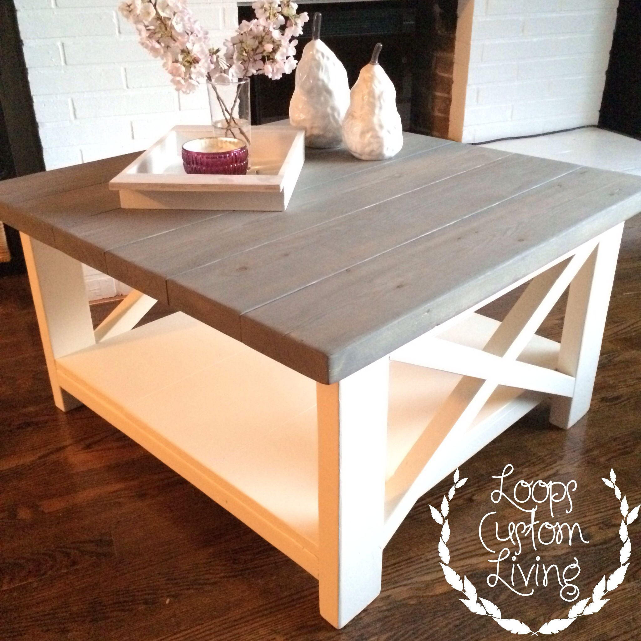Two Toned Coffee Table Coffee Table Furniture Coffee Table