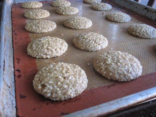 Vegan Sesame Lemon Cookie Recipe