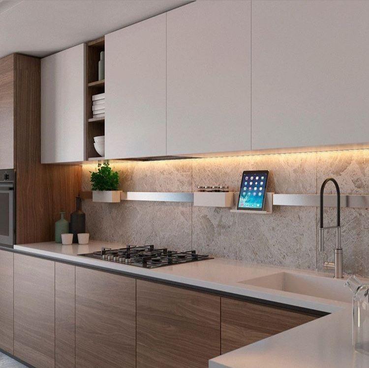 Beige Wooden Kitchen In 2020 Kitchen Inspiration Design Kitchen Room Design Latest Kitchen Designs